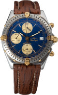 "Transportation:Aviation, Breitling Blue Angels Edition Chronomat Automatic Watch Originallyfrom the Personal Collection of Lead Solo Pilot Scott ""Yogi..."