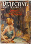 Books:Mystery & Detective Fiction, [Sax Rohmer]. Detective Story Magazine. April 8, 1922. NewYork: Street and Smith, 1922. First edition. Octavo. ...