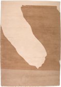 Post-War & Contemporary:Contemporary, Robert Motherwell (American, 1915-1991). Beige Figuration(tapestry), 1970s. Wool tapestry. 100 x 72 inches (254 x182.9...