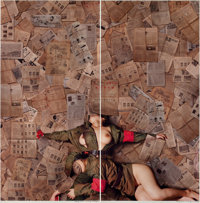 TIAN TAIQUAN (Chinese, b. 1960) Memory of Time, No. 1 & No. 2 (diptych), 2007 Chromogenic print 9