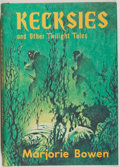 Books:Horror & Supernatural, Marjorie Bowen. Kecksies and Other Twilight Tales. SaukCity: Arkham House, [1976]. First edition, first printing. O...