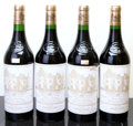 Red Bordeaux, Chateau Haut Brion 1992 . Pessac-Leognan. 1lscl, 1hscl,1wisl, 1ssos. Bottle (4). ... (Total: 4 Btls. )
