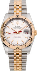 Timepieces:Wristwatch, Rolex Ref. 116261 Steel & Pink Gold Turn-O-Graph, circa 2005....