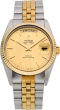 Timepieces:Wristwatch, Tudor Ref. 94613 Gent's Oyster Prince Day-Date Automatic, circa1990's. ...