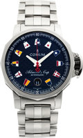 Timepieces:Wristwatch, Corum Gent's Steel Admiral's Cup Automatic. ...