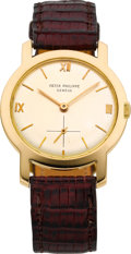Timepieces:Wristwatch, Patek Philippe Ref. 2506 Gent's Gold Wristwatch, circa 1960. ...