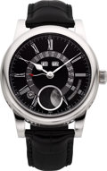 Timepieces:Wristwatch, Martin Braun Kephalos B Steel Automatic Annual Calendar Moon Phase. ...