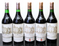 Red Bordeaux, Chateau Haut Brion. Pessac-Leognan. 1981 1lbsl, 1nl Bottle(2). 1986 Bottle (1). 1988 Bottle (2). ... (Total: 5 Btls. )