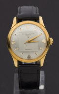 Timepieces:Wristwatch, Baume & Mercier 18k Gold Automatic Wristwatch. ...