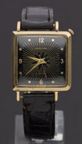 Timepieces:Pocket (post 1900), Hamilton Electric Gold Filled Wristwatch. ...