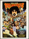 "Movie Posters:Rock and Roll, 200 Motels (United Artists, 1971). Poster (30"" X 40""). Rock andRoll.. ..."