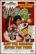 "Movie Posters:Action, Exit the Dragon, Enter the Tiger & Others Lot (Dimension,1976). One Sheets (4) (27"" X 41"") & Photos (4) (8"" X 10""Affixed t... (Total: 8 Items)"