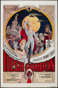 "Movie Posters:Sexploitation, Flesh Gordon & Other Lot (Mammoth Films, 1974). One Sheets (2)(27"" X 40"" & 27"" X 41""). Sexploitation.. ... (Total: 2 Items)"
