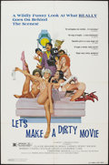 "Movie Posters:Sexploitation, Let's Make a Dirty Movie and Other Lot (Group 1, 1975). One Sheets(3) (27"" X 41""). Sexploitation.. ... (Total: 3 Items)"
