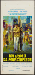"Movie Posters:Academy Award Winners, Midnight Cowboy (United Artists, 1969). Italian Locandina (13"" X27.5""). Academy Award Winners.. ..."