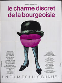 "The Discreet Charm of the Bourgeoisie (20th Century Fox, 1972). French Grande (47"" X 63""). Comedy"