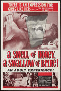 "Movie Posters:Sexploitation, A Smell of Honey, a Swallow of Brine (Sonney Amusement Enterprises,1966). One Sheet (27"" X 41""). Sexploitation.. ..."