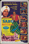 "Movie Posters:Adventure, Sabu and the Magic Ring & Other Lot (Allied Artists, 1957). OneSheets (2) (27"" X 41""). Adventure.. ... (Total: 2 Items)"