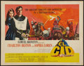 "Movie Posters:Adventure, El Cid (Allied Artists, 1961). Half Sheet (22"" X 28""). Style A.Adventure.. ..."