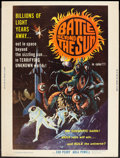 """Movie Posters:Science Fiction, Battle Beyond the Sun (Film Group, 1962). Poster (30"""" X 40"""").Science Fiction.. ..."""