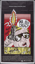 """Movie Posters:Crime, 99 and 44/100% Dead (20th Century Fox, 1974). Three Sheet (41"""" X 81""""). Crime.. ..."""