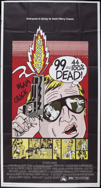 "99 and 44/100% Dead (20th Century Fox, 1974). Three Sheet (41"" X 81""). Crime"