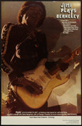 "Movie Posters:Rock and Roll, Jimi Plays Berkeley (New Line, 1971). Special Poster (11"" X 17"").Rock and Roll.. ..."
