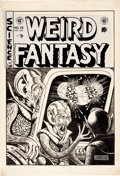 Original Comic Art:Covers, Al Feldstein Weird Fantasy #16 Cover Original Art (EC,1952)....