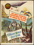 "Movie Posters:Fantasy, The Fabulous World of Jules Verne (Warner Brothers, 1961). Poster(30"" X 40""). Fantasy.. ..."