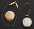 Timepieces:Pocket (post 1900), Ball ORC Rare Dial & Movement Official Standard 19 Jewel Pocket Watch. ...