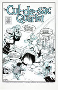 Original Comic Art:Covers, Karl Kesel The Cul-de-Sac Quartet Illustration Original Art(2011)....