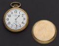 Timepieces:Pocket (post 1900), Ball Official Standard 21 Jewel 16 Size Pocket Watch. ...