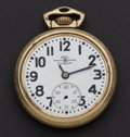 Timepieces:Pocket (post 1900), Ball 21 Jewel 999 B Official Standard Pocket Watch For Repair. ...