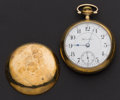 Timepieces:Pocket (post 1900), Hamilton The Union Special 17 Jewel 18 Size Pocket Watch. ...