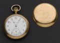 Timepieces:Pocket (post 1900), Elgin 23 Jewel 18 Size Veritas. ...
