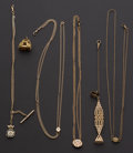 Timepieces:Watch Chains & Fobs, Assortment of Six Chains/Fob. ... (Total: 6 Items)