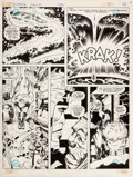 Original Comic Art:Panel Pages, Jack Kirby and D. Bruce Berry DC Graphic Novel #4: The HungerDogs New Gods Graphic Novel Page 28 Original Art (DC...