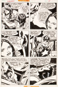 Original Comic Art:Panel Pages, Jack Kirby and Frank Giacoia Captain America #198 Page 15Original Art (Marvel, 1976)....