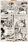 Original Comic Art:Panel Pages, Jack Kirby and Frank Giacoia Captain America #199 Page 16Original Art (Marvel, 1976)....