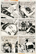Original Comic Art:Panel Pages, Jack Kirby and Frank Giacoia Captain America #198 Page 11Original Art (Marvel, 1976)....