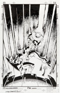 Original Comic Art:Covers, Dan Jurgens and Art Thibert Captain America #37 CoverOriginal Art (Marvel, 2001)....