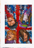 Original Comic Art:Covers, Glenn Fabry Greatest Hits #1 Cover Original Art (DC/Vertigo,2008)....