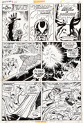 Original Comic Art:Panel Pages, John Buscema and Joe Sinnott Fantastic Four #120 Page 19 Original Art (Marvel, 1972)....