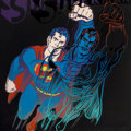 Prints:Contemporary, ANDY WARHOL (American, 1928-1987). Superman (from Myths),1981. Color screenprint with diamond dust. 38 x 38 inches (96....