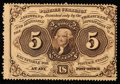 Fractional Currency:First Issue, Fr. 1229 5¢ First Issue New.. ...