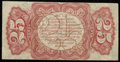 Fractional Currency:Third Issue, Fr. 1291SP 25¢ Third Issue Narrow Margin Back About New.. ...