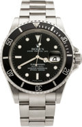 Timepieces:Wristwatch, Rolex Ref. 16610 Steel Submariner, circa 2006. ...