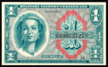 Military Payment Certificates:Series 611, Series 611 $1 Choice New.. ...
