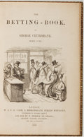 Books:Literature Pre-1900, George Cruikshank. The Betting-Book. London: W. & F. G.Cash, 1852. First edition. Octavo. Full crushed morocco ...