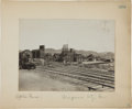 Photography, [Nevada Mining]. Photograph of Virginia City, NV Mine by Tibbitts,circa 1908....